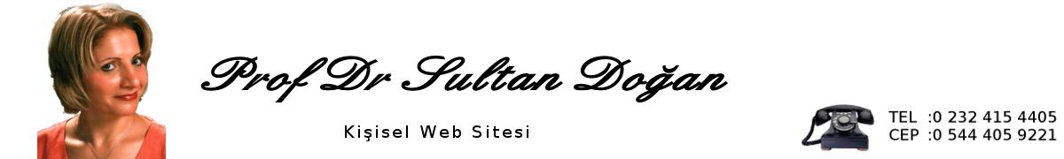 Prof. Dr. Sultan Doğan, Psikiyatrist, İzmir